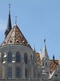 Iglesia de Matías Foto de archivo