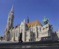 Iglesia de Matías, Budapest Imagen de archivo