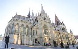 Iglesia de Matías, Budapest Foto de archivo