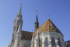 Iglesia de Matías, Budapest Fotos de archivo libres de regalías