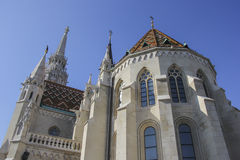 Iglesia de Matías, Budapest Imágenes de archivo libres de regalías