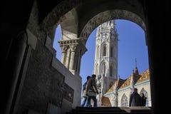 Iglesia de Matías, Budapest Foto de archivo libre de regalías