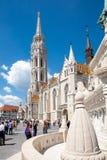 Iglesia de Matías, Budapest, Hungría Fotos de archivo libres de regalías