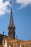 Iglesia de Matías, colina del castillo, Budapest, Hungría Fotografía de archivo libre de regalías