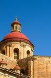 Iglesia de Mellieha, Malta Foto de archivo