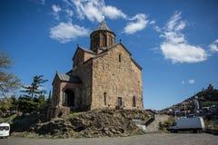 Iglesia de Metekhi Fotos de archivo libres de regalías