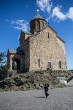 Iglesia de Metekhi Foto de archivo