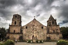 Iglesia de Miagao fotos de archivo