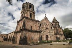 Iglesia de Miagao foto de archivo