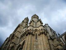 Iglesia de monasterio arquitectónica de York del detalle Fotografía de archivo