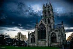 Iglesia de monasterio de Doncaster Imágenes de archivo libres de regalías