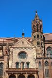 Iglesia de monasterio de Friburgo en Freiburg-im-Breisgau, Alemania Foto de archivo