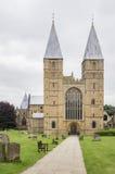 Iglesia de monasterio de Southwell, Nottinghamshire Foto de archivo