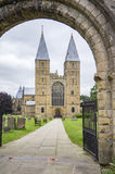Iglesia de monasterio de Southwell, Nottinghamshire Fotografía de archivo