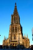 Iglesia de monasterio de Ulm Imagen de archivo libre de regalías