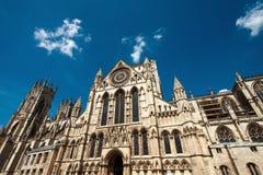 Iglesia de monasterio de York Fotografía de archivo libre de regalías