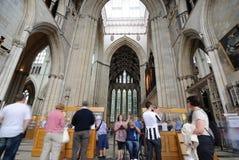Iglesia de monasterio de York Imágenes de archivo libres de regalías