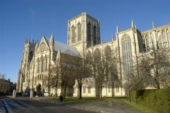 Iglesia de monasterio de York Fotos de archivo libres de regalías