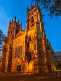 Iglesia de monasterio de York, catedral foto de archivo libre de regalías