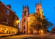 Iglesia de monasterio de York, catedral fotografía de archivo libre de regalías
