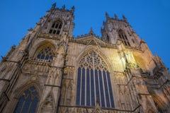 Iglesia de monasterio de York en York Imagenes de archivo
