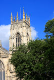 Iglesia de monasterio de York, Inglaterra Foto de archivo