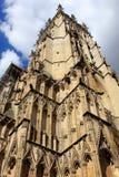 Iglesia de monasterio de York, Inglaterra Imagen de archivo libre de regalías