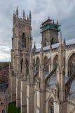 Iglesia de monasterio de York, Inglaterra Imagenes de archivo