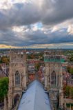 Iglesia de monasterio de York, Inglaterra Fotografía de archivo libre de regalías