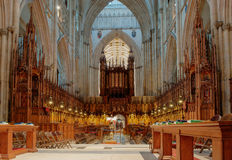 Iglesia de monasterio de York, Inglaterra Imagen de archivo