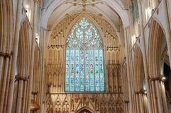 Iglesia de monasterio de York, Inglaterra Foto de archivo libre de regalías