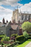 Iglesia de monasterio de York, Inglaterra Fotos de archivo