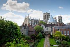 Iglesia de monasterio de York, Inglaterra Fotos de archivo libres de regalías