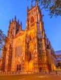 Iglesia de monasterio de York, Inglaterra, Reino Unido fotos de archivo