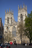Iglesia de monasterio de York - York - Inglaterra Foto de archivo libre de regalías