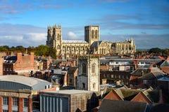 Iglesia de monasterio Inglaterra de York Foto de archivo