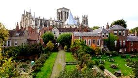 Iglesia de monasterio de York, York, Reino Unido fotografía de archivo libre de regalías