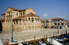 Iglesia de Murano Fotografía de archivo