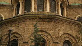 Iglesia de Nedelya del santo en Sofía, Bulgaria, cristianismo ortodoxo, arquitectura metrajes