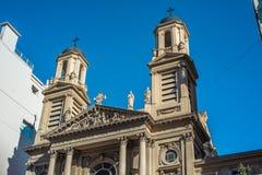 Iglesia de Nicola di Bari en Buenos Aires, la Argentina Imágenes de archivo libres de regalías