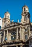 Iglesia de Nicola di Bari en Buenos Aires, la Argentina Imagen de archivo