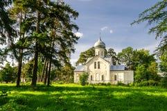 Iglesia de Nikita Foto de archivo