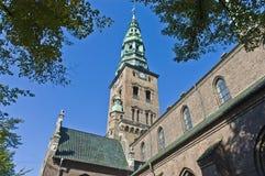 Iglesia de Nikolaj en Copenhague Fotografía de archivo