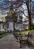 Iglesia de Nikolay Chudotvorets del santo en Sogia, Bulgaria Foto de archivo