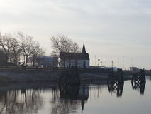 Iglesia de Norweigian Imagen de archivo libre de regalías