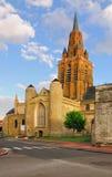 Iglesia de Notre Dame, Calais Foto de archivo libre de regalías