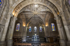Iglesia de Notre Dame de la compassion, París, Francia Imágenes de archivo libres de regalías