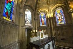 Iglesia de Notre Dame de la compassion, París, Francia Fotografía de archivo