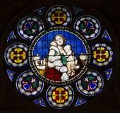 Iglesia de Notre Dame de la compassion, París, Francia Foto de archivo
