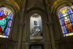 Iglesia de Notre Dame de la compassion, París, Francia Foto de archivo libre de regalías